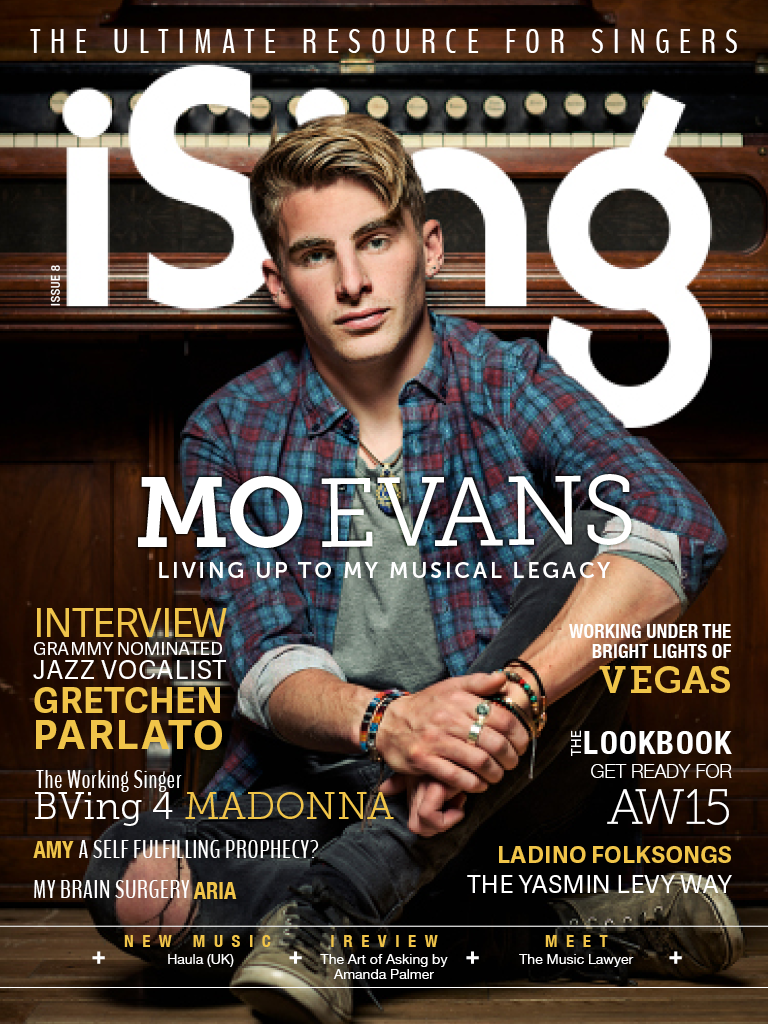 Issue 8 Mo Evans