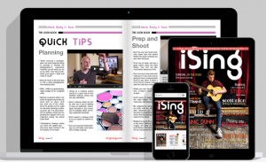 iSing for iPhone, iPad, Laptop