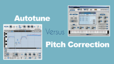 The difference between pitch correction and auto tune