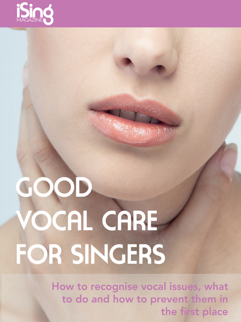 Good Vocal Care For Singer eBooks