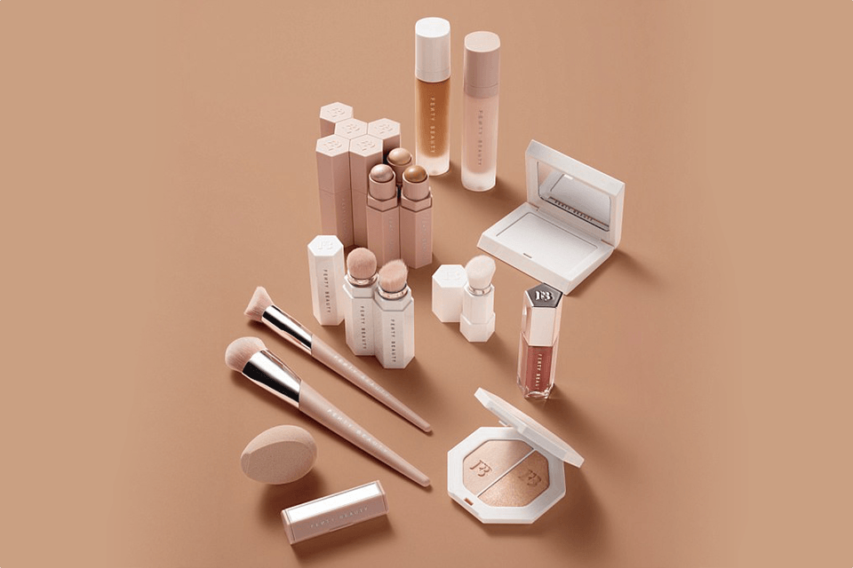 Fenty Beauty makeup