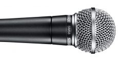 The legendary Shure SM58