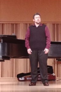 Performing At A Recent Recital