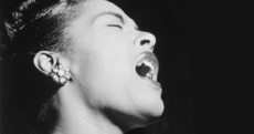 Jazz singer, Billie Holiday