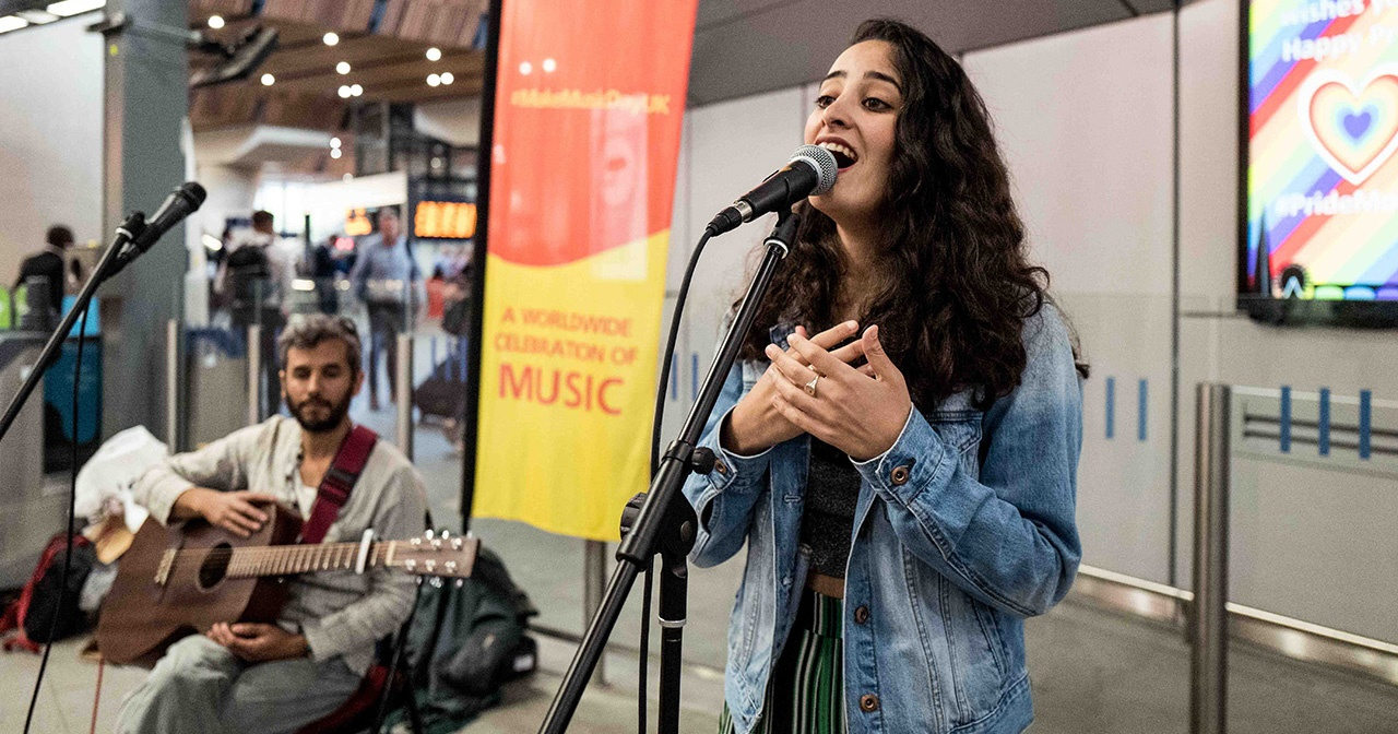 Sign up to perform at Make Music Day